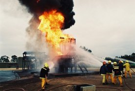 1992 - Esso Longford Fire Training (1)