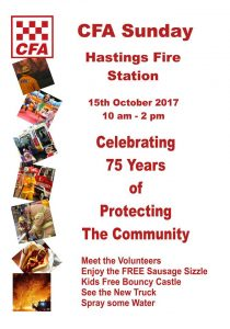 Hastings CFA Sunday
